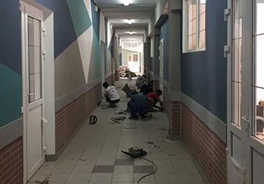 Текущий ремонт помещений ГБОУ Школа №1205
