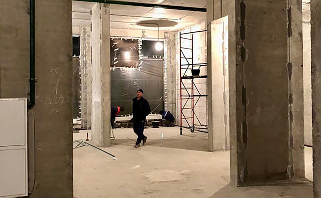 Капитальный ремонт офиса м. Динамо